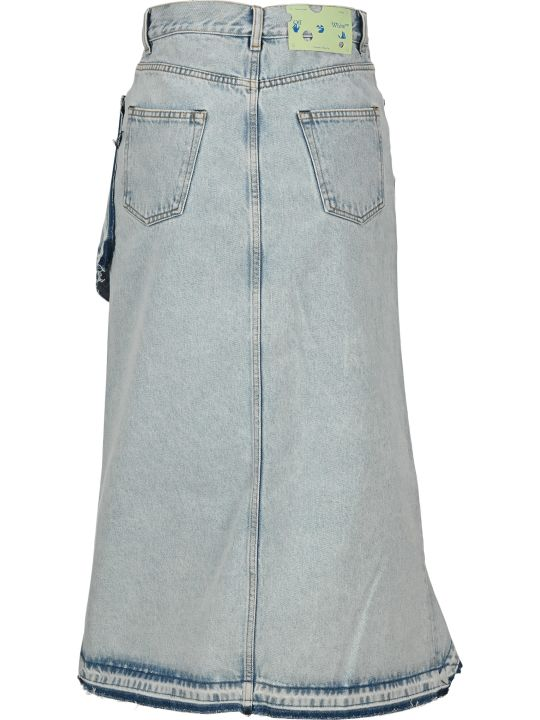Off-White Off White Asymmetrical Skirt