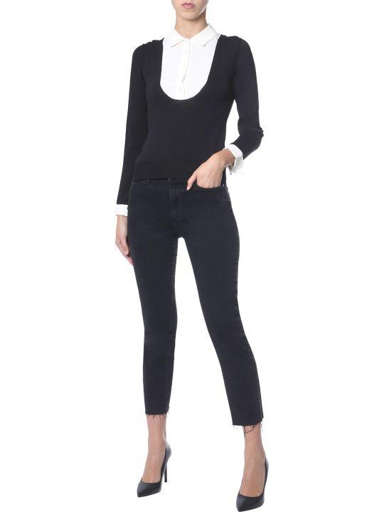 Boutique Moschino Silk Sweater