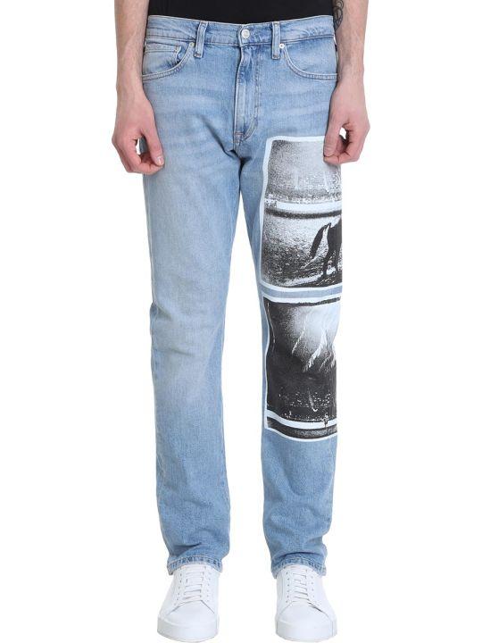 Calvin Klein 035 Straight Blue Denim Jeans