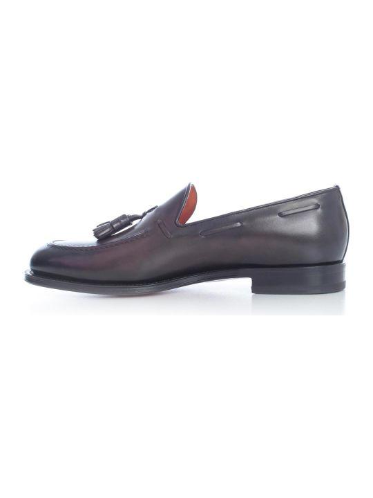Santoni Carrol Loafers W/nappa