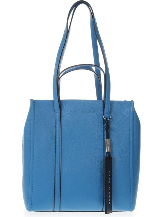 Marc Jacobs Azure Tote The Tag Bag In Leather