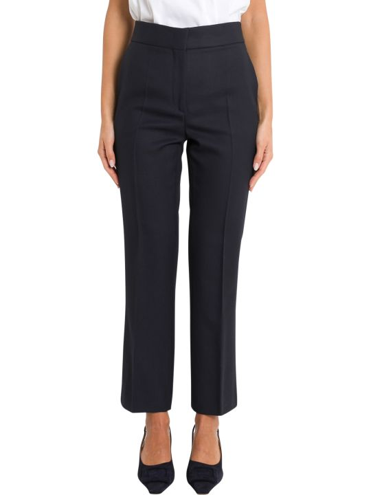 Cedric Charlier Trousers With Pleats