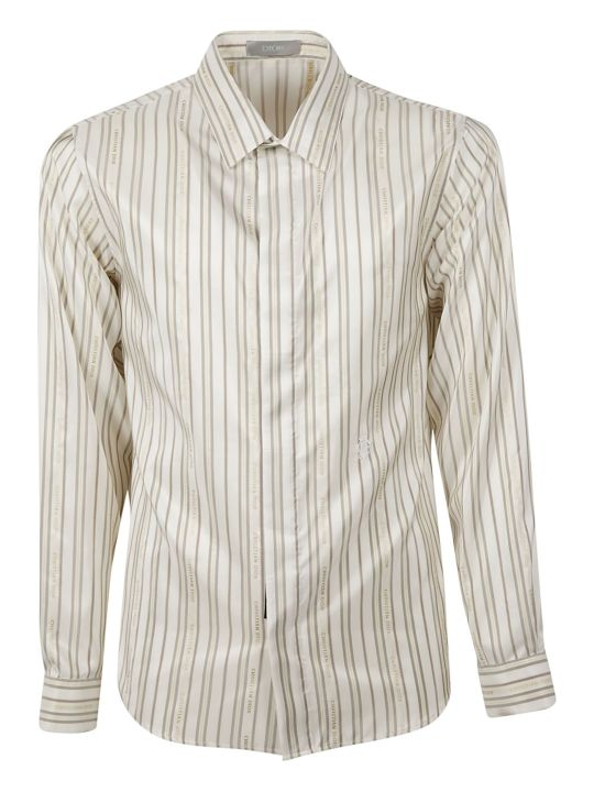 Christian Dior Striped Shirt