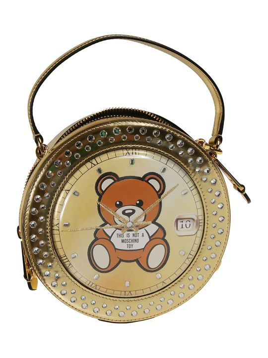 Moschino Teddy Clock Shoulder Bag