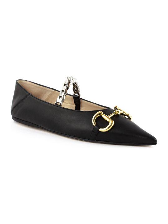 Gucci Women's Leather Ballet Flat