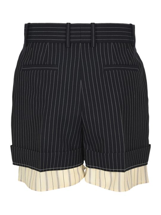 Chloé Chloe' Pinstripe Shorts