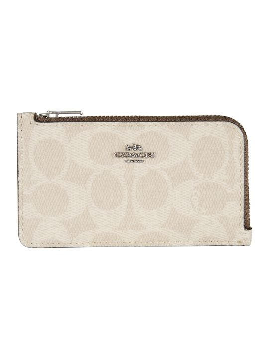 Coach Zip-around Card Holder