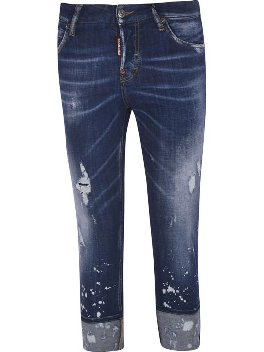 Dsquared2 Turn Up Jeans