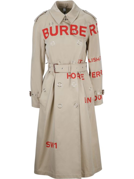 Burberry Printed Trench
