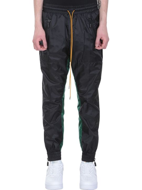 Rhude Black Nylon Pants