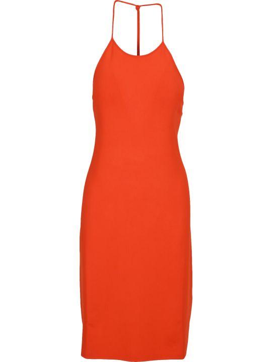 Bottega Veneta Backless Halterneck Dress