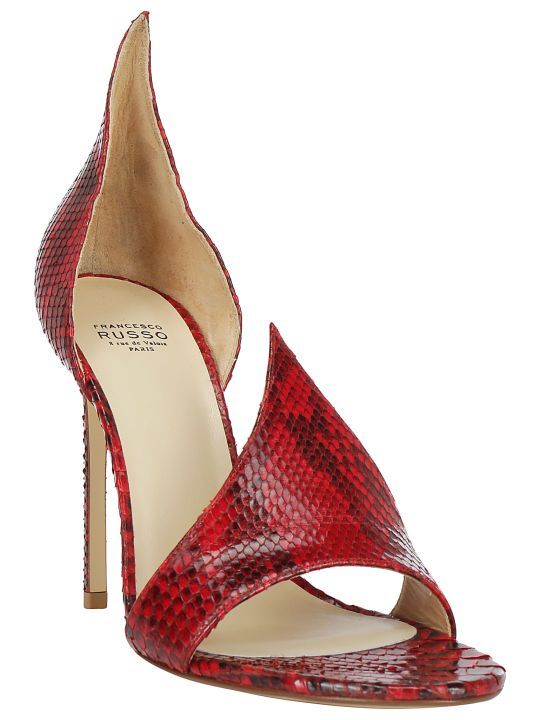 Francesco Russo Sandal Pumps