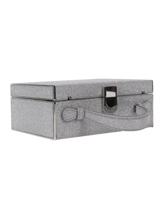 Mark Cross Silver Rear Window Bag