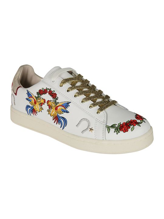 M.O.A. master of arts Embroidered Sneakers