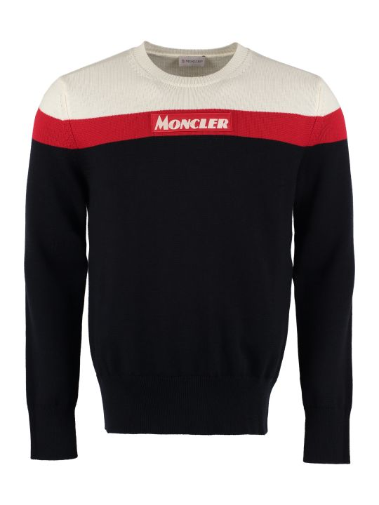 Moncler Tricot-knit Wool Sweater