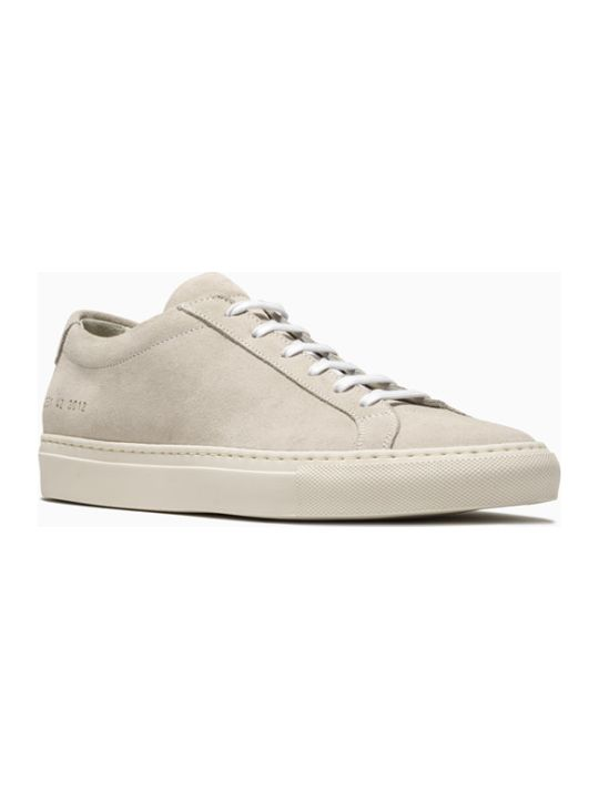 Common Projects Original Achilles Low Suede Sneakers 2251