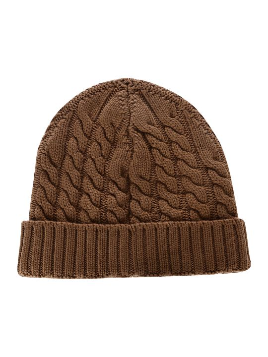 Eleventy Cable Knitted Beanie