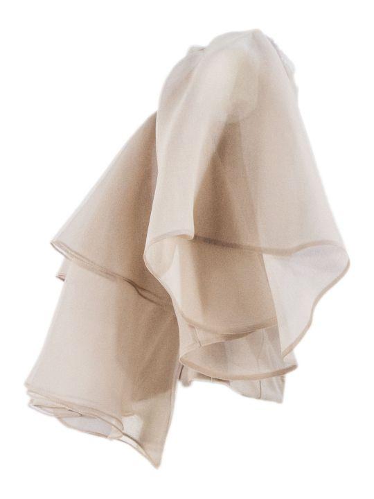 Brunello Cucinelli Nude Silk Top