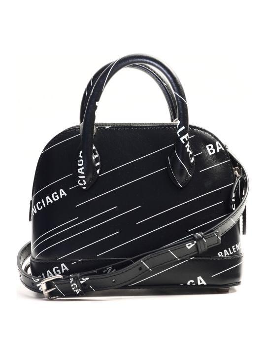 Balenciaga Bag Ville Xxs All-over