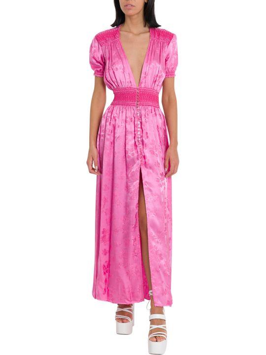 ATTICO Borcade Long Dress