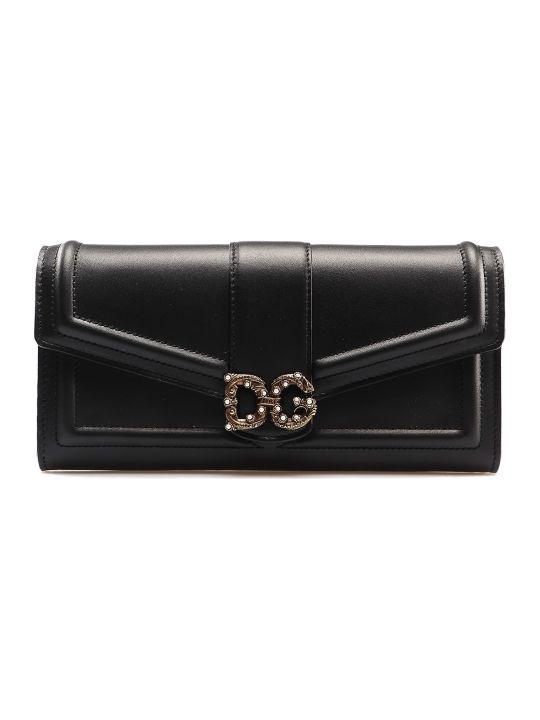 Dolce & Gabbana Calfskin Continental Wallet