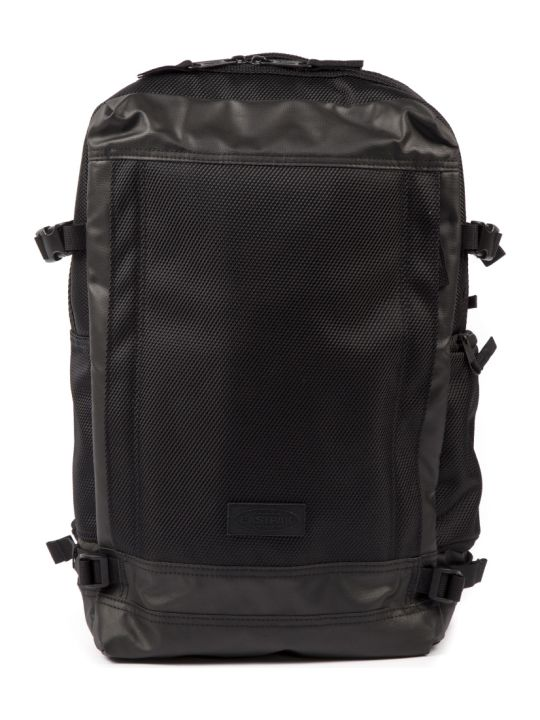 Eastpak Black Textile Tecum M Rugzak Backpack