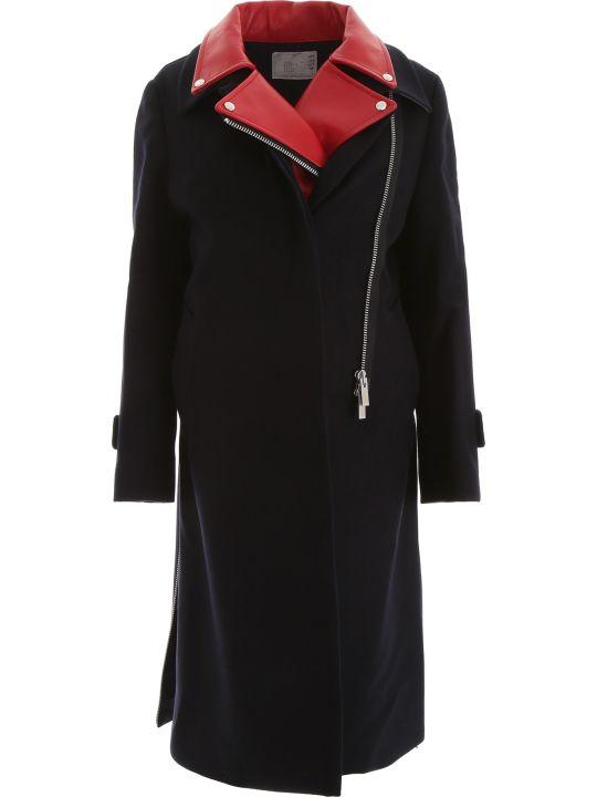 Sacai Coat With Inside Vest