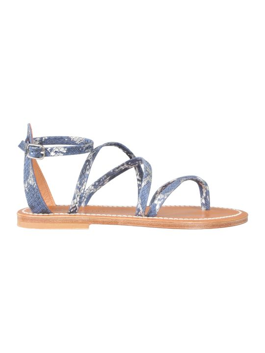 K.Jacques Strappy Sandals