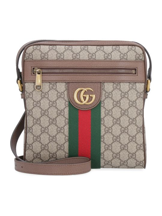 Gucci Gg Supreme Fabric Ophidia Shoulder-bag