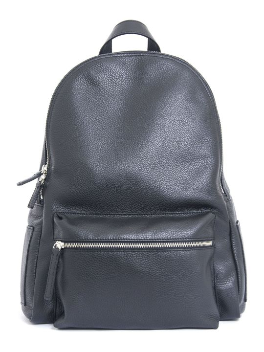 Orciani Set City Leather Backpack