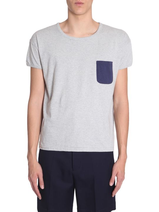 Visvim T-shirt With Contrast Pocket