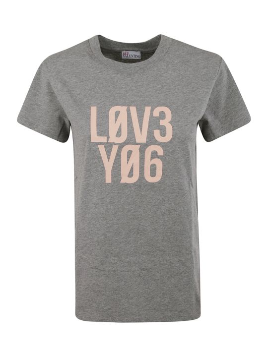 RED Valentino Love You T-shirt