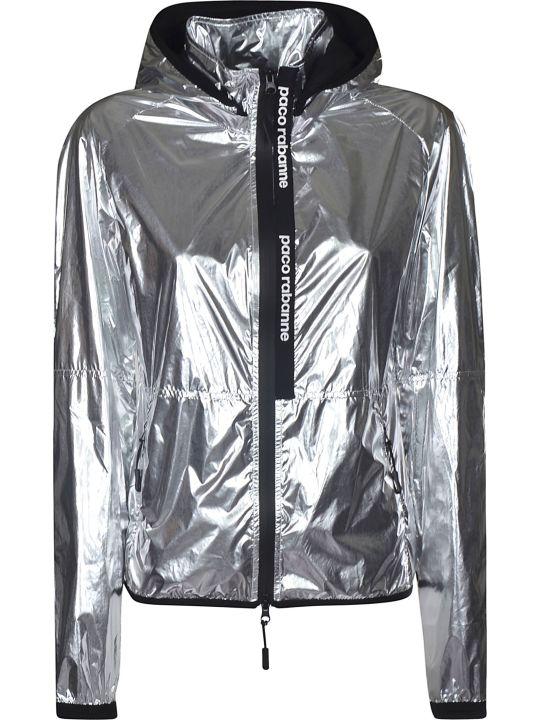 Paco Rabanne Metallic Zipped Jacket