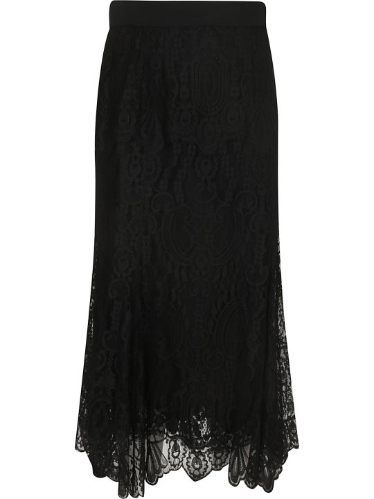 Dolce & Gabbana Lace Detail Skirt