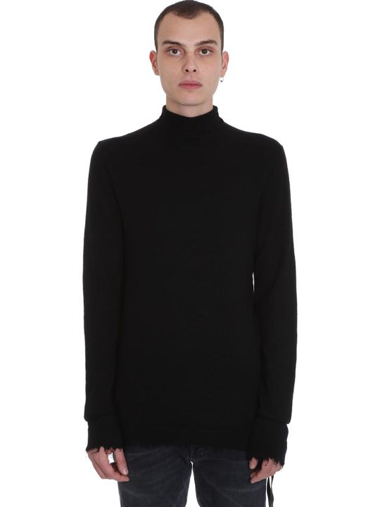 Ben Taverniti Unravel Project Knitwear In Black Wool