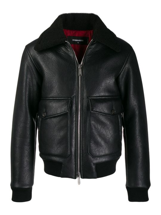 Dsquared2 Faux Shearling