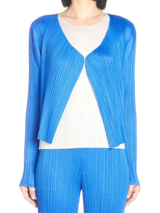 Pleats Please Issey Miyake 'new Colorfull Basic' Cardigan