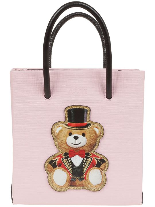 Moschino Teddy Print Shoulder Bag