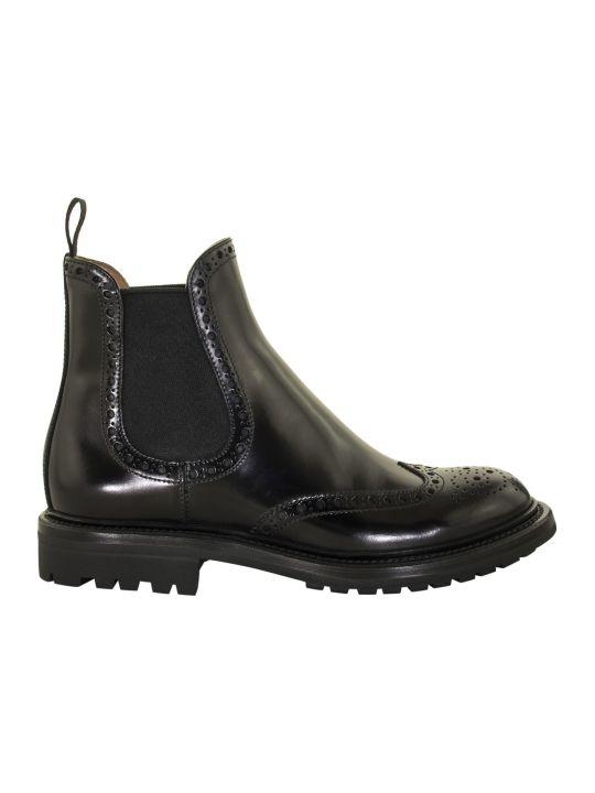 Church's Aura 2 Rois Calf Chelsea Boot Brogue Black