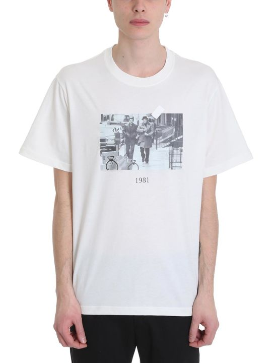 Throwback Donnie White Cotton T-shirt