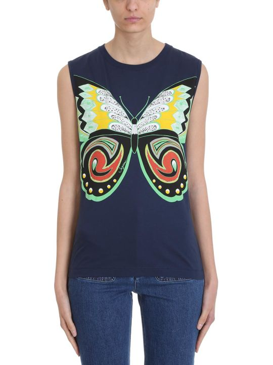 See by Chloé Butterfly Blue Top