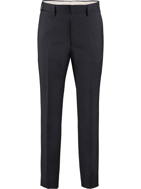 Maison Margiela Wool Blend Tailored Trousers