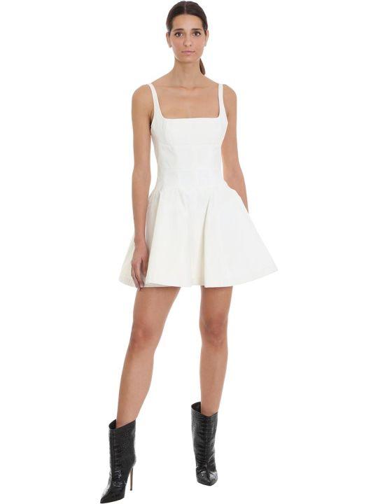 Giovanni Bedin Dress In White Cotton