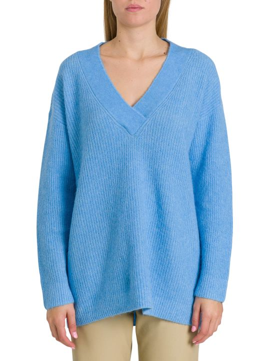Ganni V Neck Sweater
