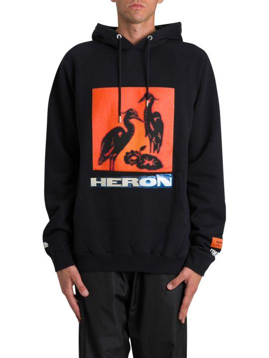 HERON PRESTON Heron Printed Hoodie