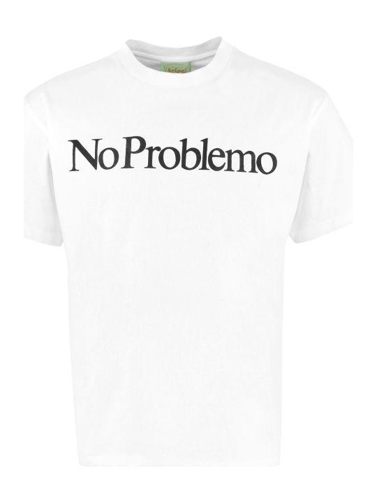 Aries Printed Cotton T-shirt