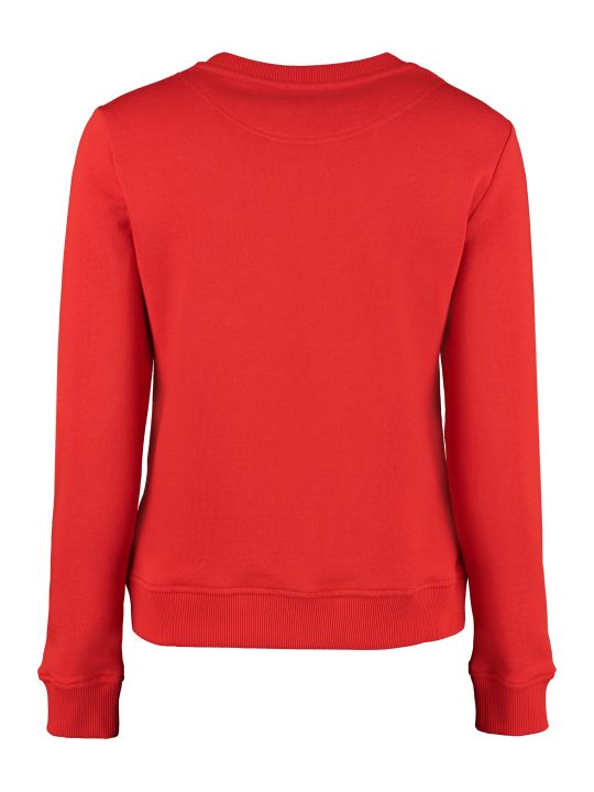Kenzo Tiger Print Cotton Sweatshirt