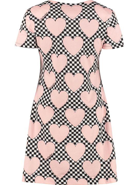 Love Moschino Patterned Cotton Dress