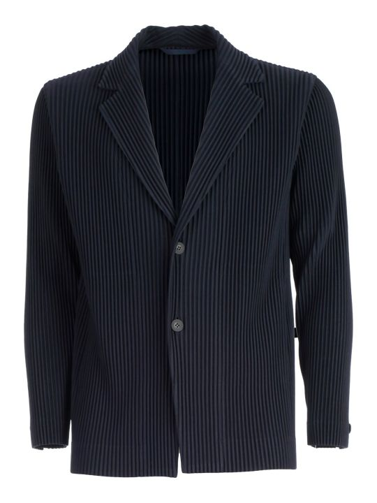 Pleats Please Issey Miyake Pleats Please By Issey Miyake Knitted Blazer