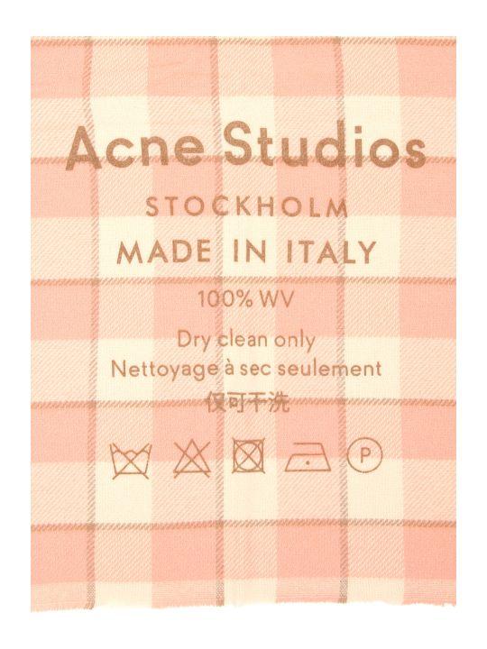 Acne Studios Checked Scarf